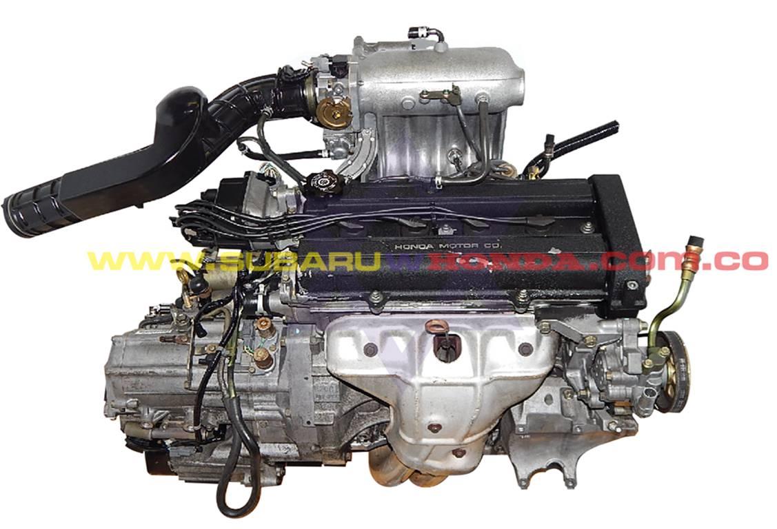 7 Octavos motor Honda CRV 1999