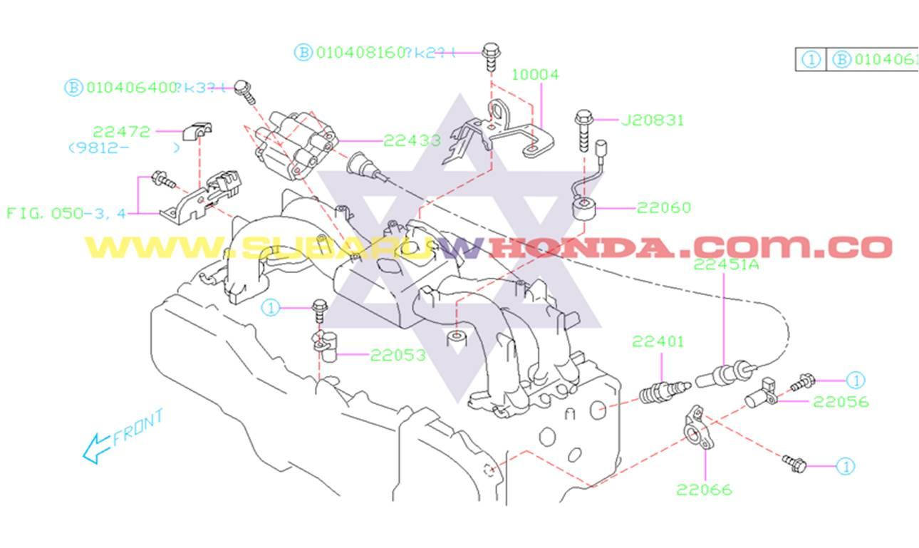 Cables de alta Subaru Forester 2000 catalogo
