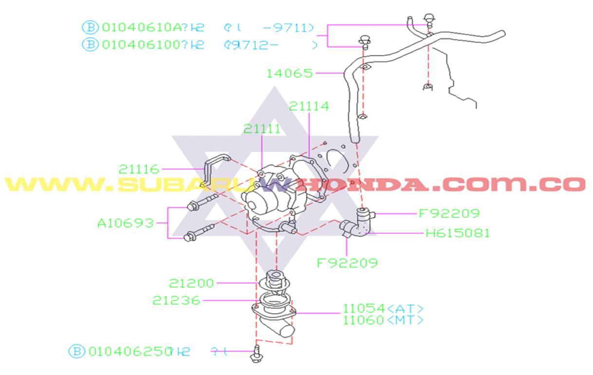 base-termostato-subaru-forester-2001-catalogo