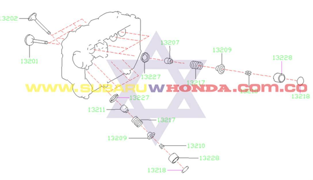 Onrigs bujías Subaru Forester 2001 catalogo