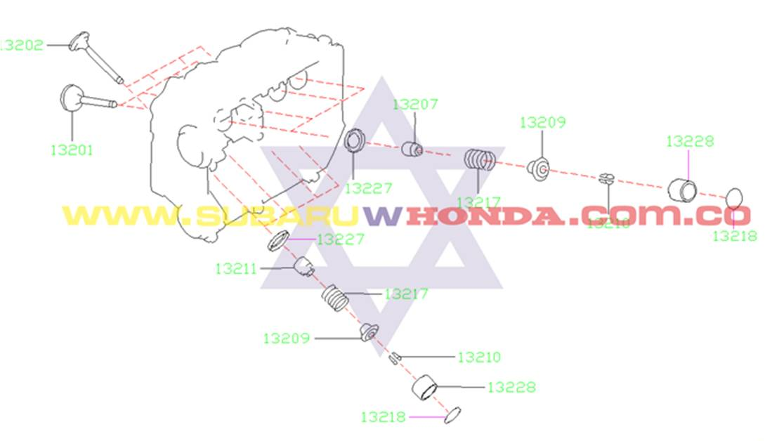 Onrigs bujías Subaru Forester 2002 catalogo