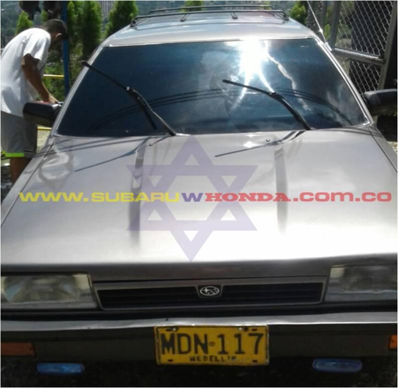 Frente Camioneta Subaru Leone 1993
